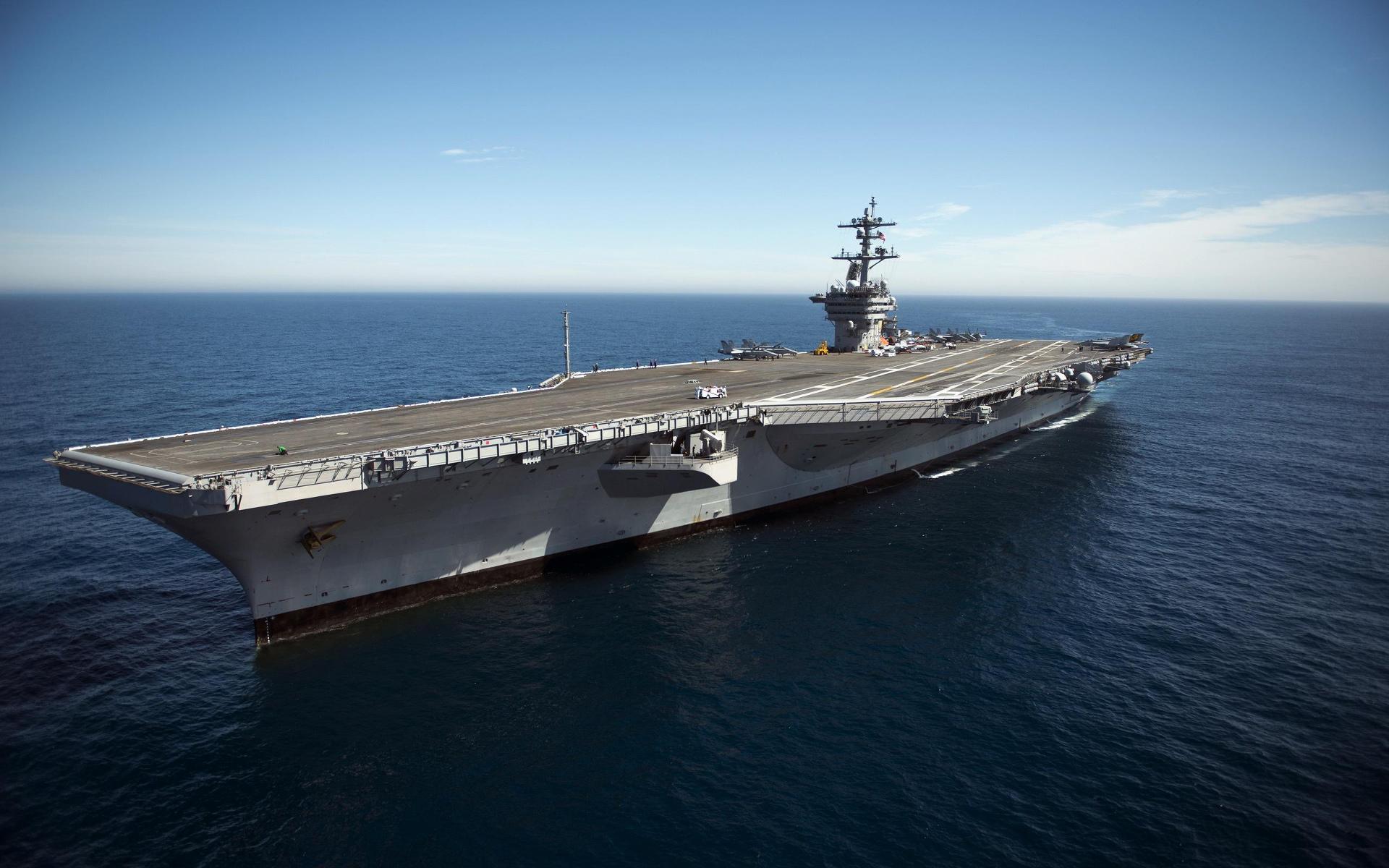 USS Carl Vinson (CVN-70) Wallpaper HD Download