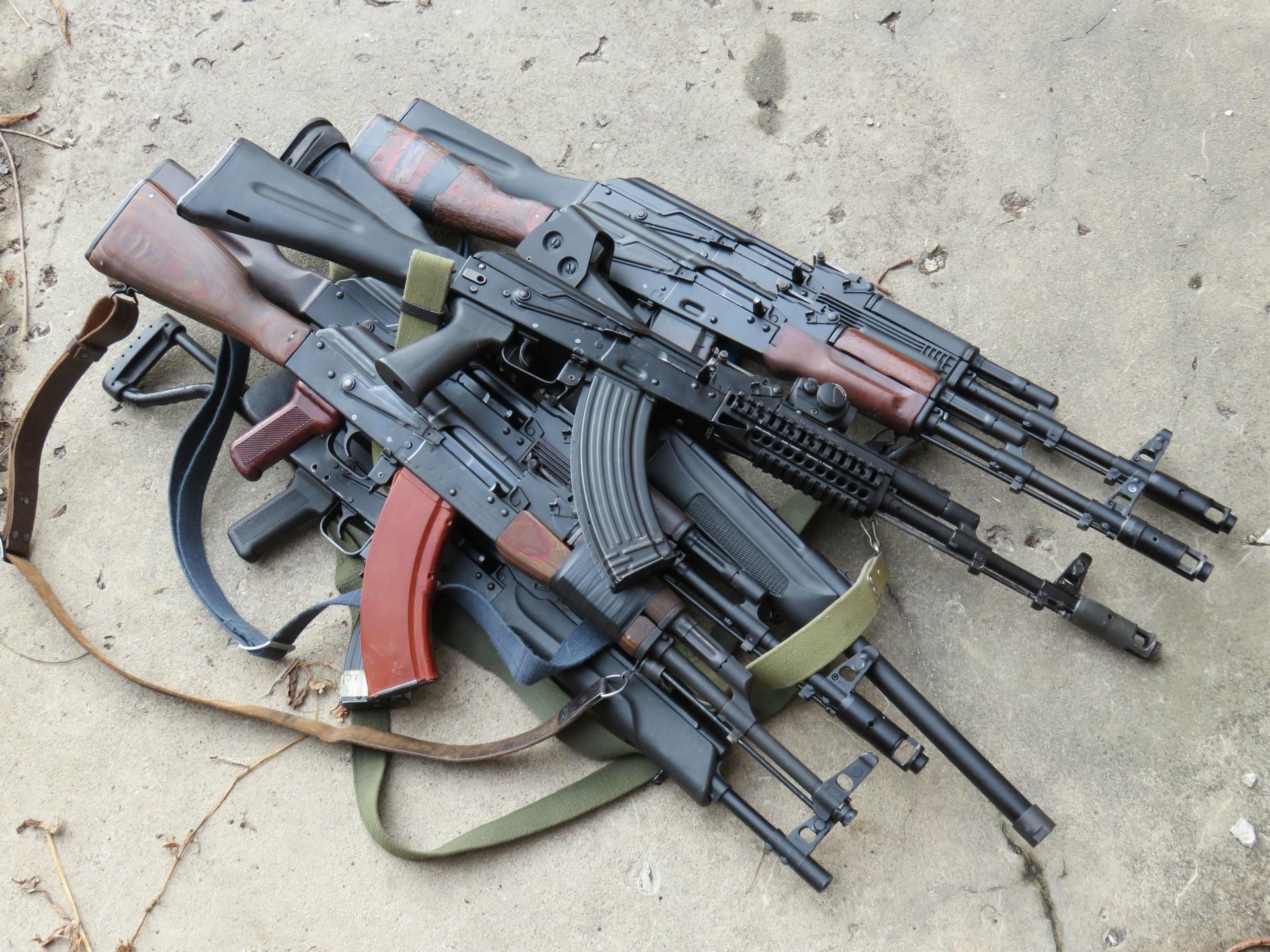AK-47 Rifle Wallpaper HD Download