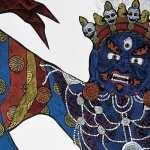 Tibetan Artistic desktop wallpaper