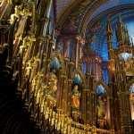Notre Dame Basilica In Montreal desktop wallpaper
