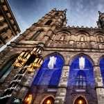 Notre Dame Basilica In Montreal widescreen