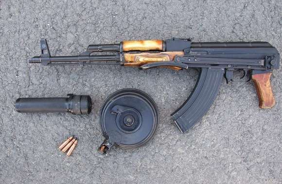 AK-47 Rifle wallpapers hd quality