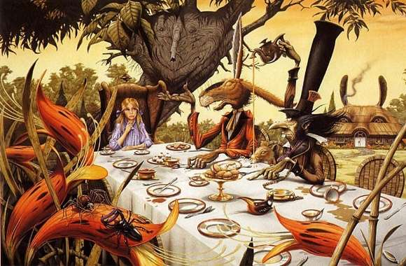 Alice In Wonderland wallpapers hd quality