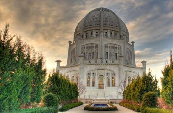 Baha i Temple wallpapers hd quality