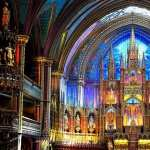 Notre Dame Basilica In Montreal pic
