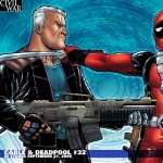 Cable and Deadpool wallpaper