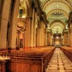 Basilique-Cathedrale Marie-Reine Du Monde In Montreal PC wallpapers