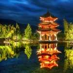 Pagoda hd wallpaper