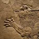 Assyria Lion Hunts high quality wallpapers