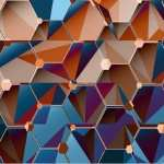 Hexagon Abstract photos