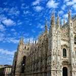 Milan Cathedral hd wallpaper