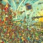 Psychedelic Artistic desktop wallpaper