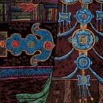 Tibetan Artistic background