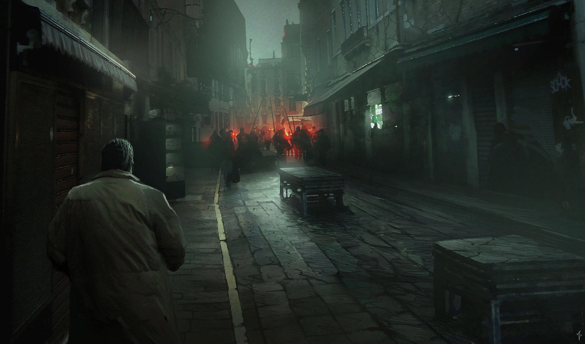 cyberpunk city hd wallpapers - photo #31