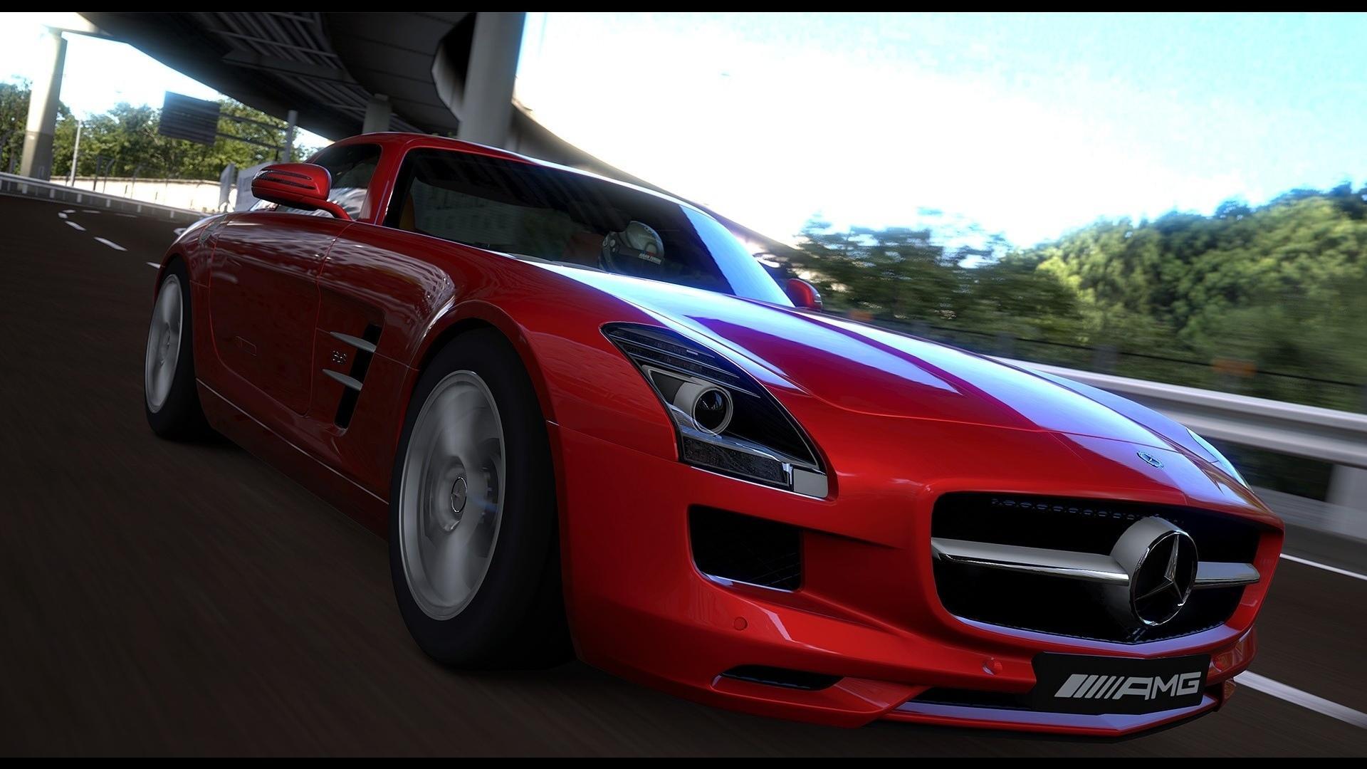 красный автомобиль gran turismo скачать