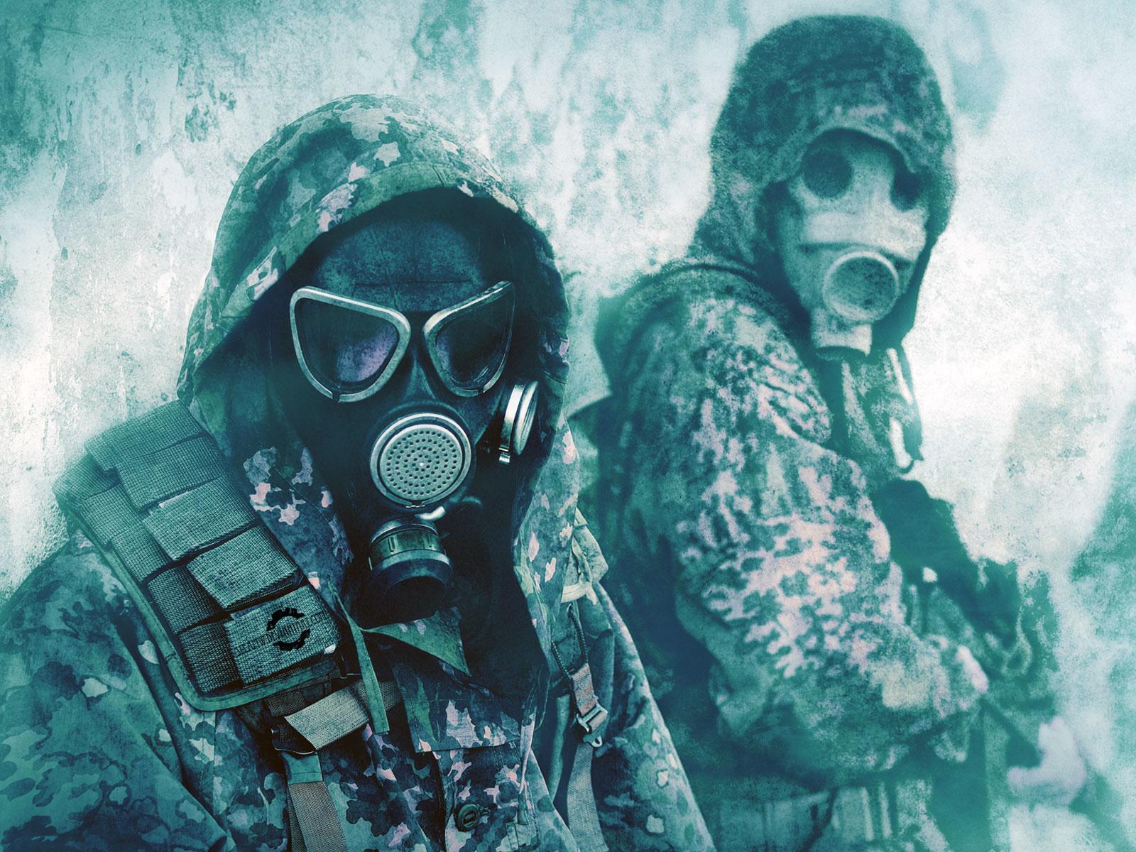 Gas Mask Wallpaper HD Download