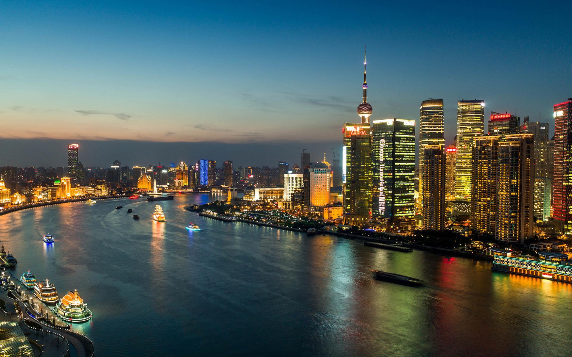 Hd Walpebar: Shanghai Wallpaper HD Download