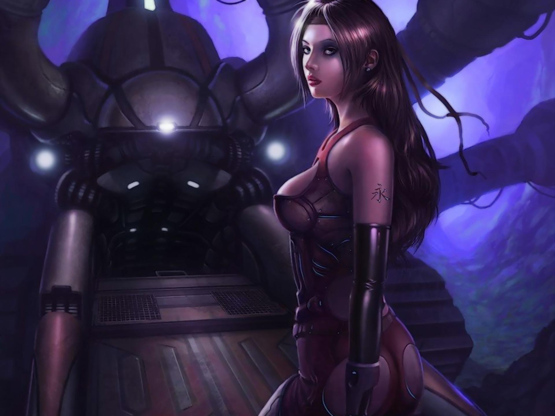 Erotic sci fi cartoons