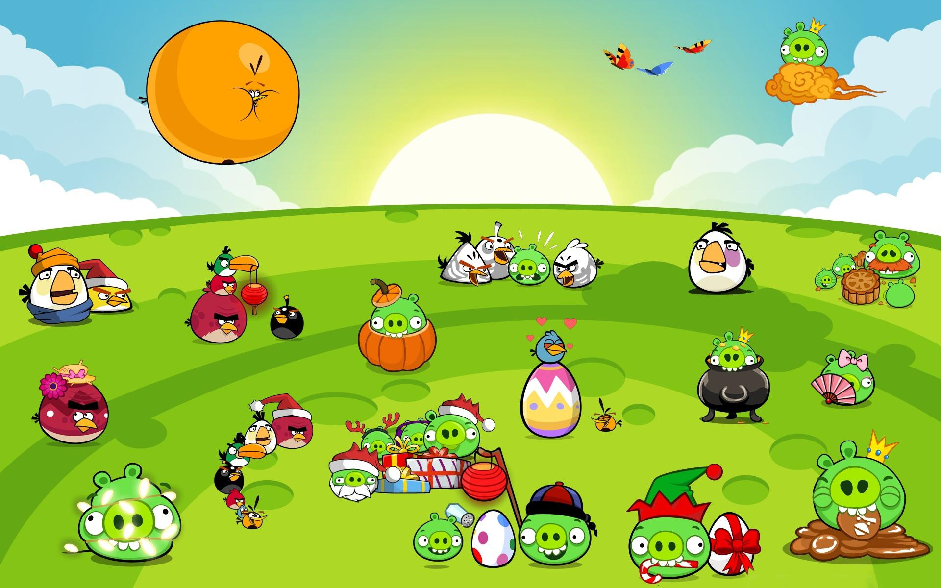 Angry Birds wallpapers HD quality