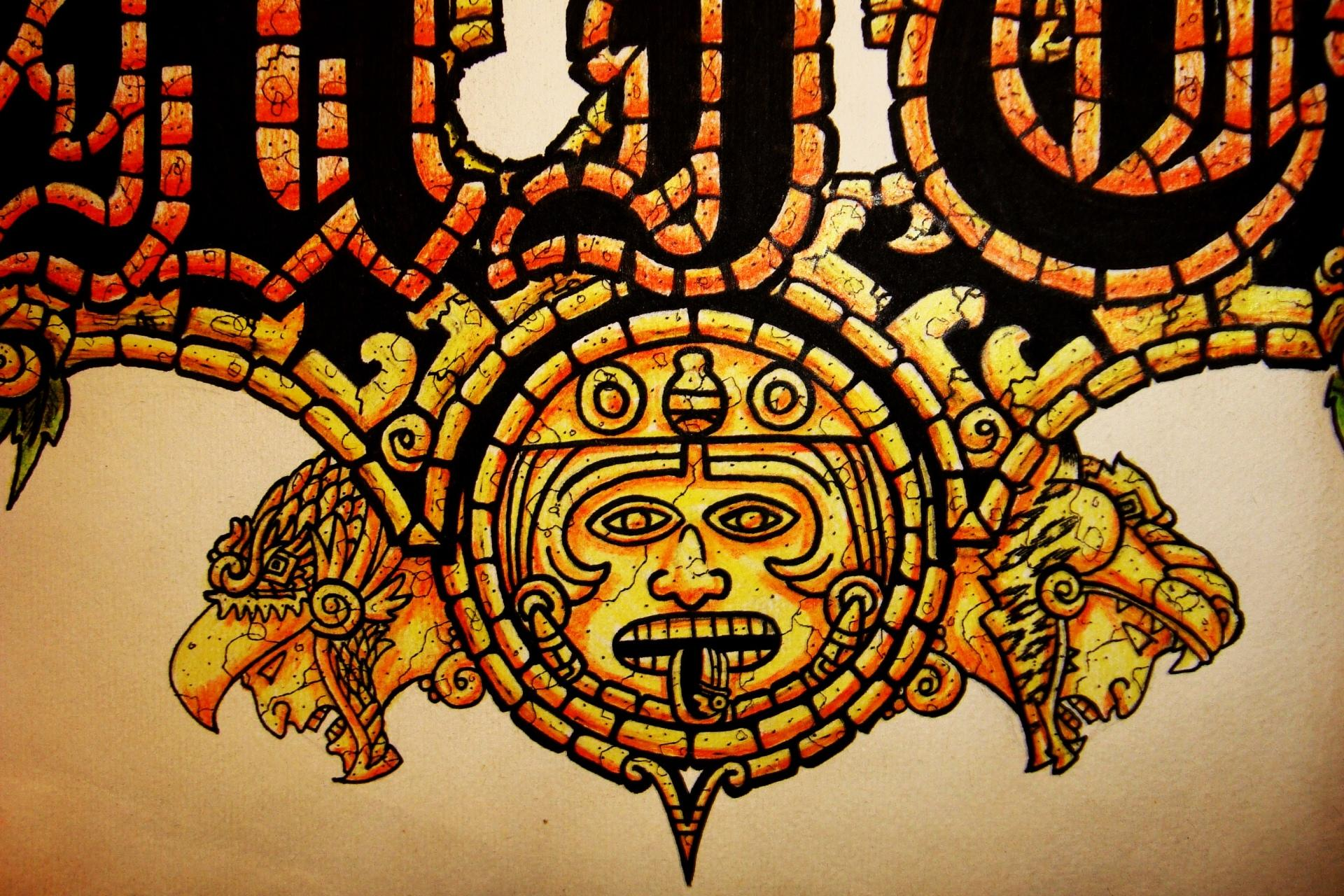 Aztec Artistic wallpapers HD quality