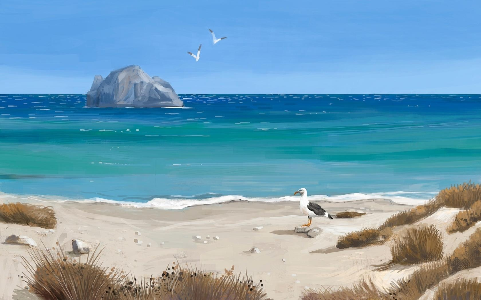 Beach Artistic wallpapers HD quality