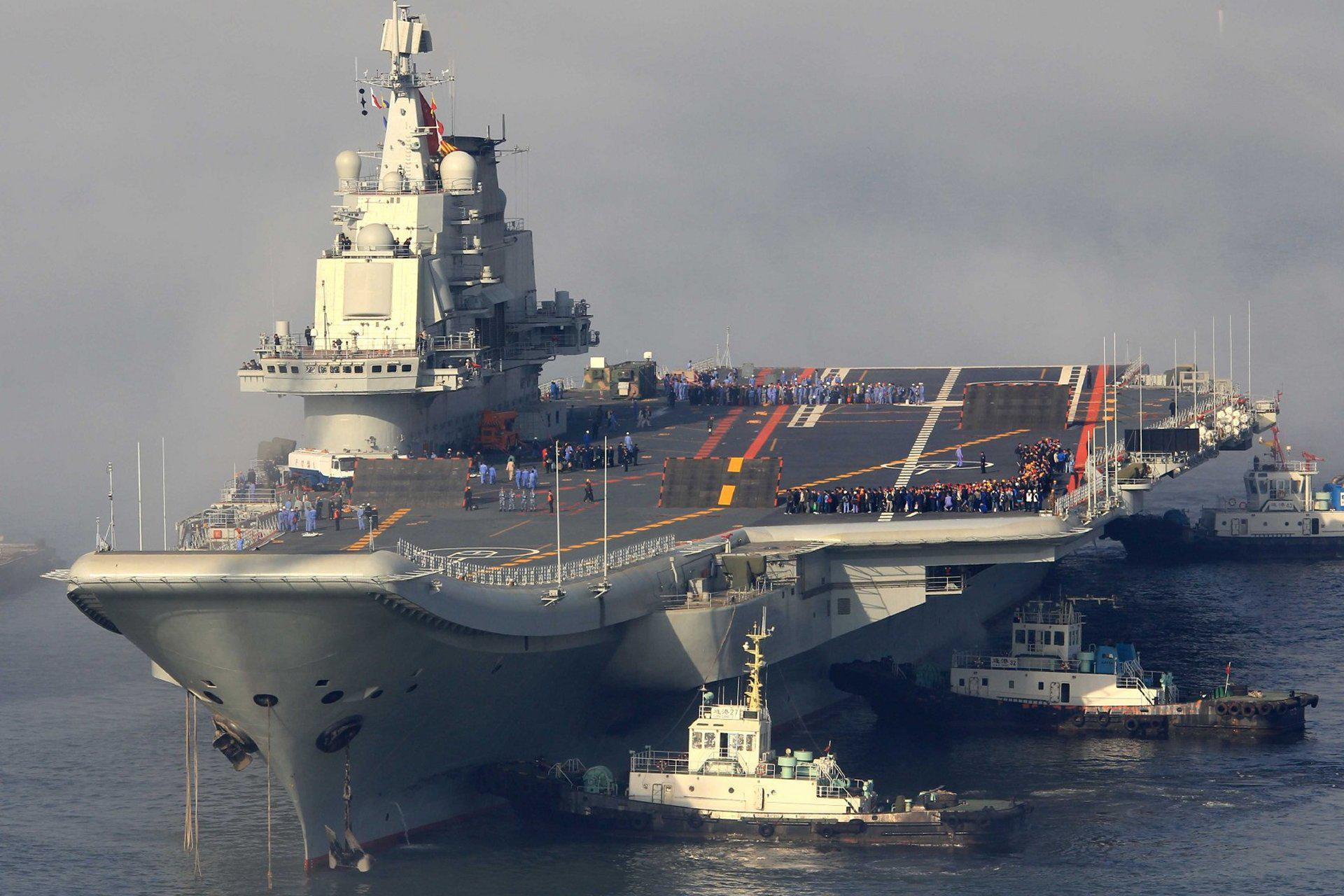 Chinese Aircraft Carrier Liaoning wallpapers HD quality
