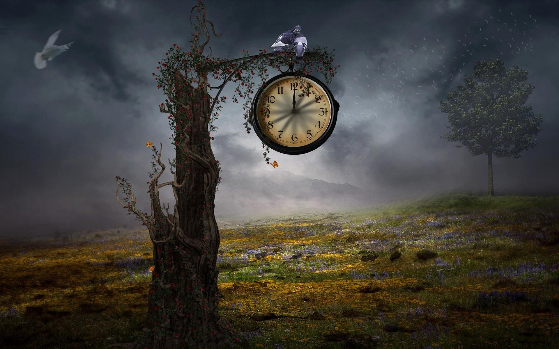 Clock Artistic wallpapers HD quality
