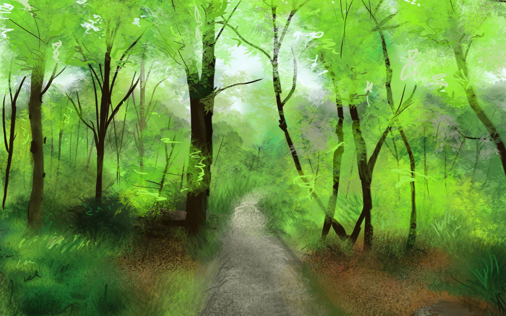 Forest Artistic wallpapers HD quality