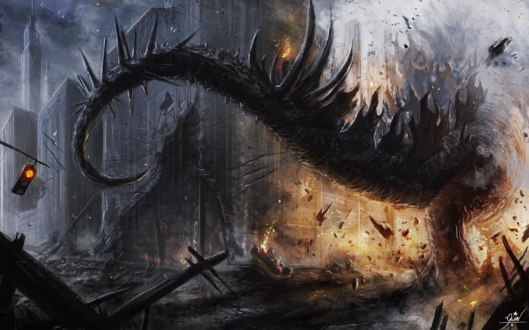 Godzilla wallpapers HD quality
