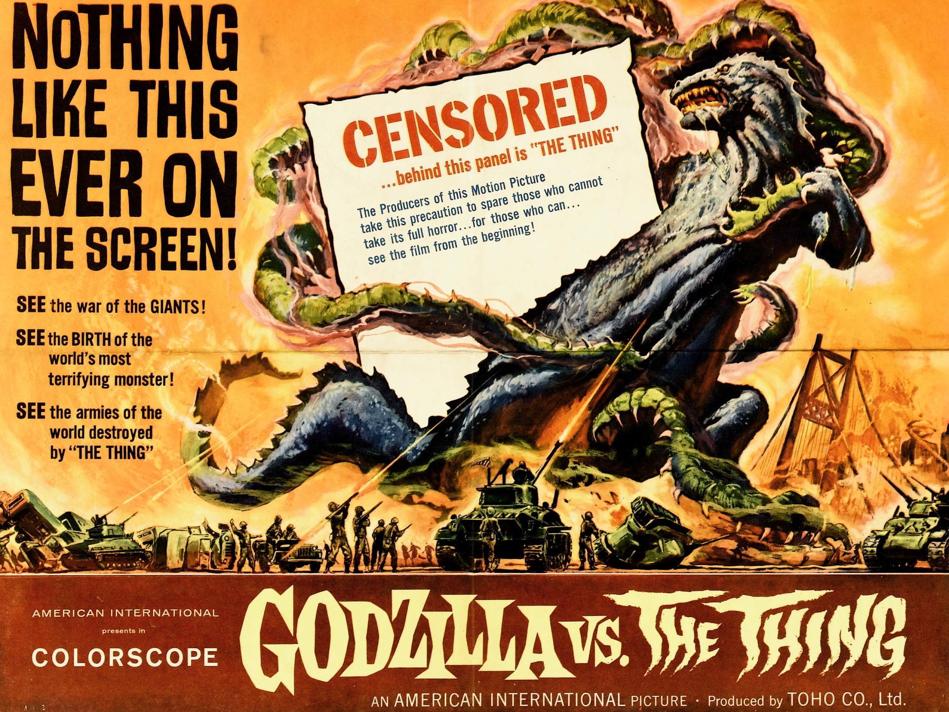 Godzilla Sci Fi wallpapers HD quality