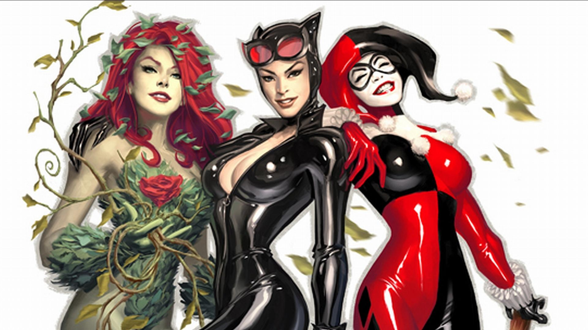 Gotham City Sirens wallpapers HD quality