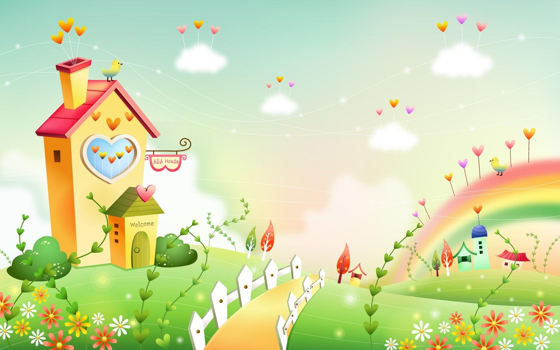 House Artistic wallpapers HD quality