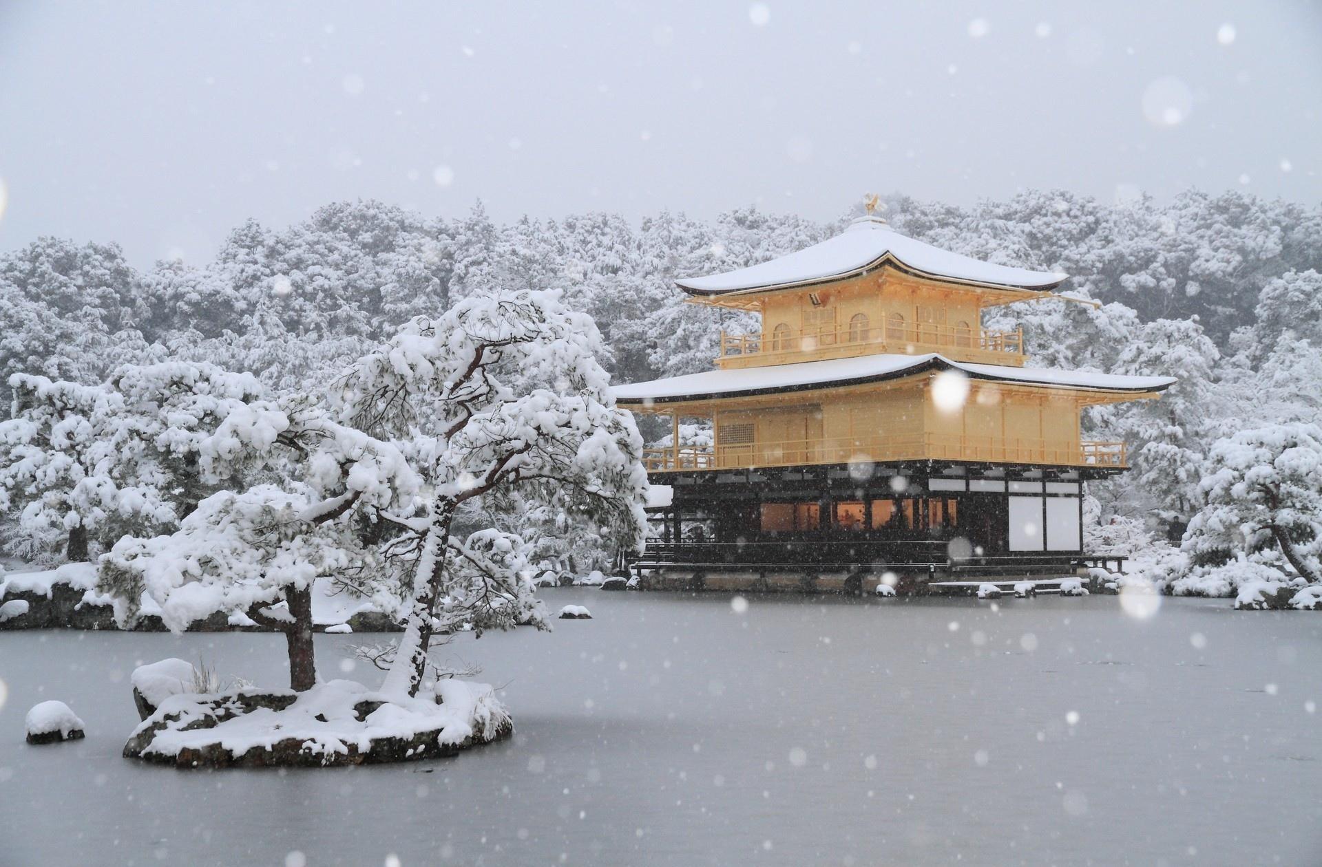 Kinkaku Ji Temple wallpapers HD quality
