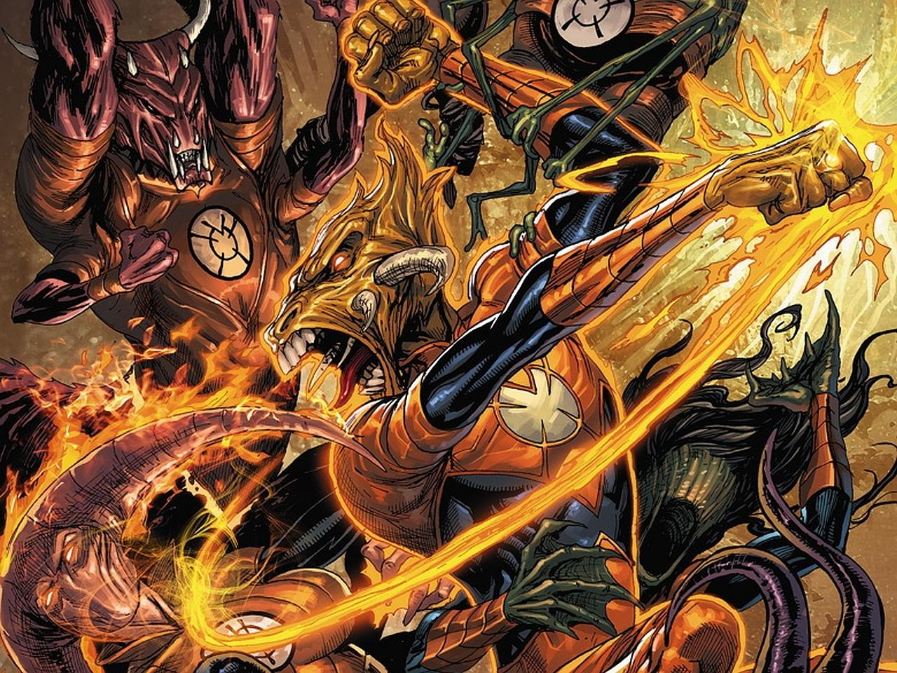 Larfleeze Comics wallpapers HD quality