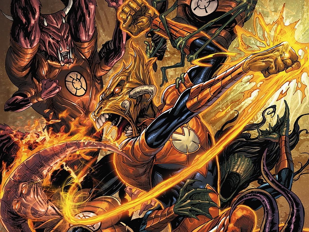 Larfleeze Comics wallpapers HD quality