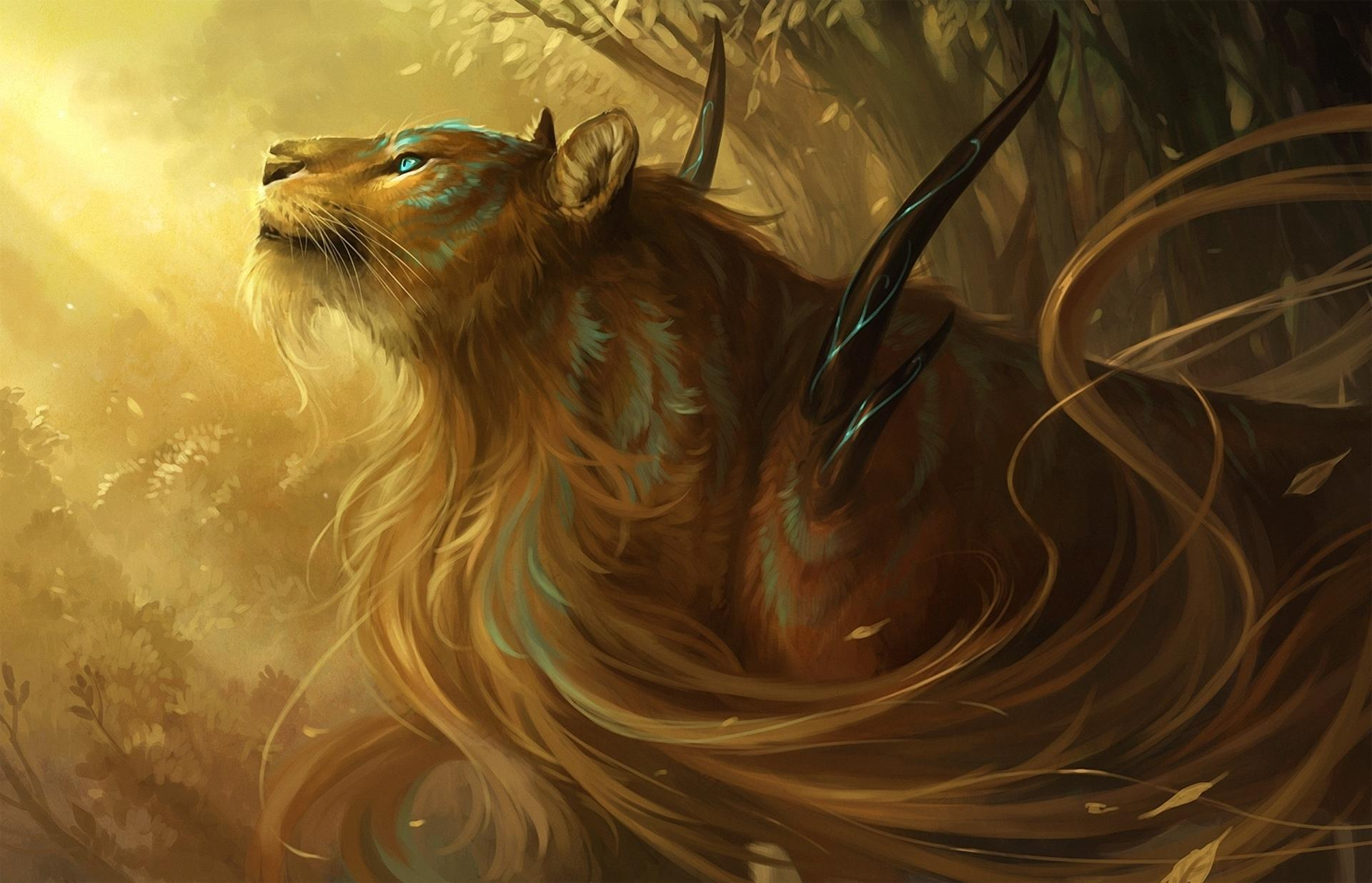 Lion Fantasy wallpapers HD quality