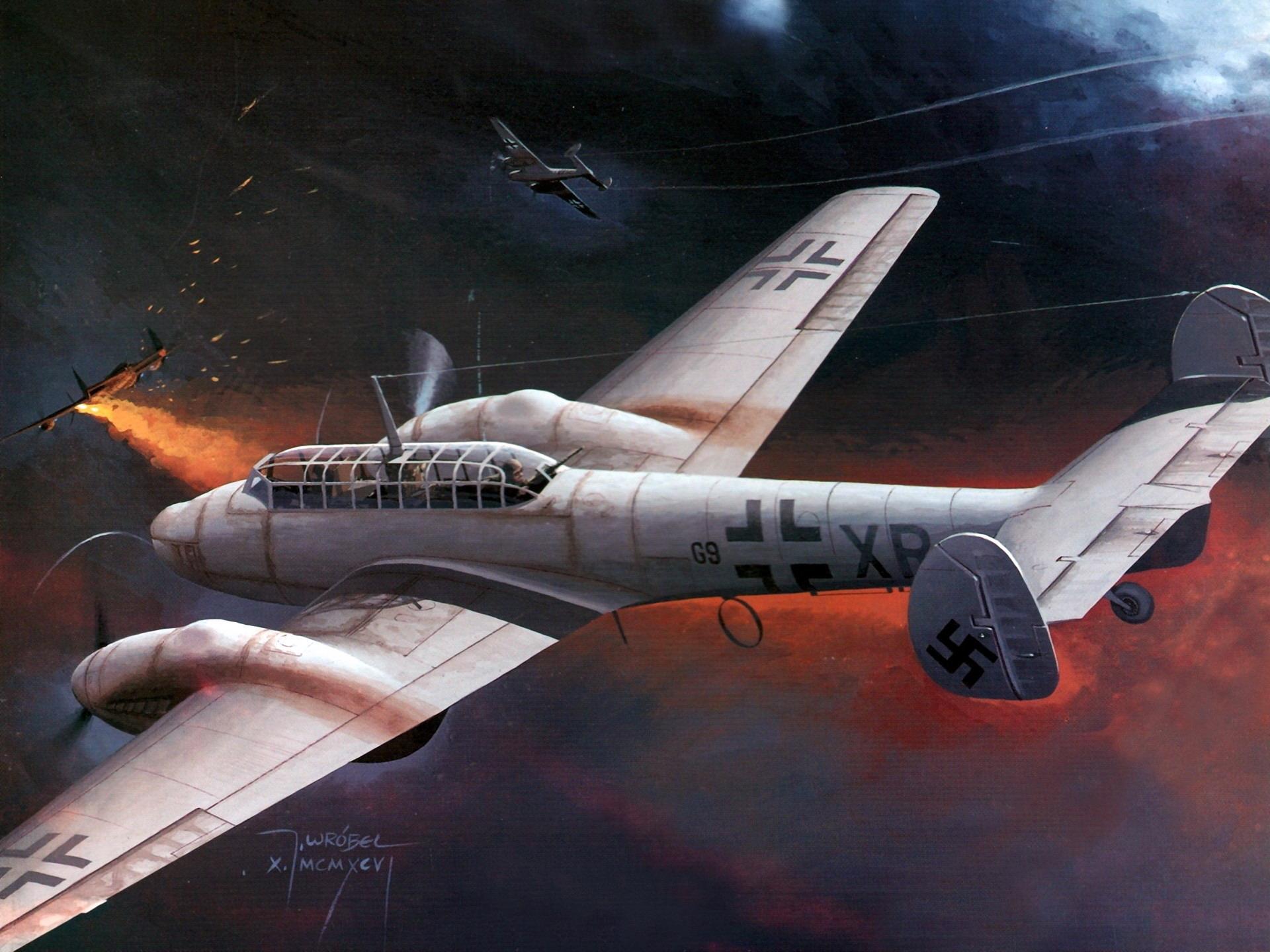 Messerschmitt Bf 110 wallpapers HD quality