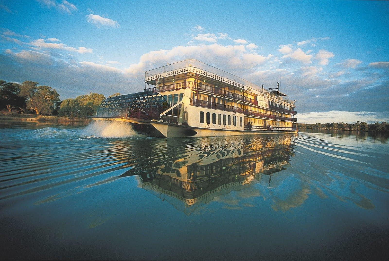 Paddle Steamer wallpapers HD quality