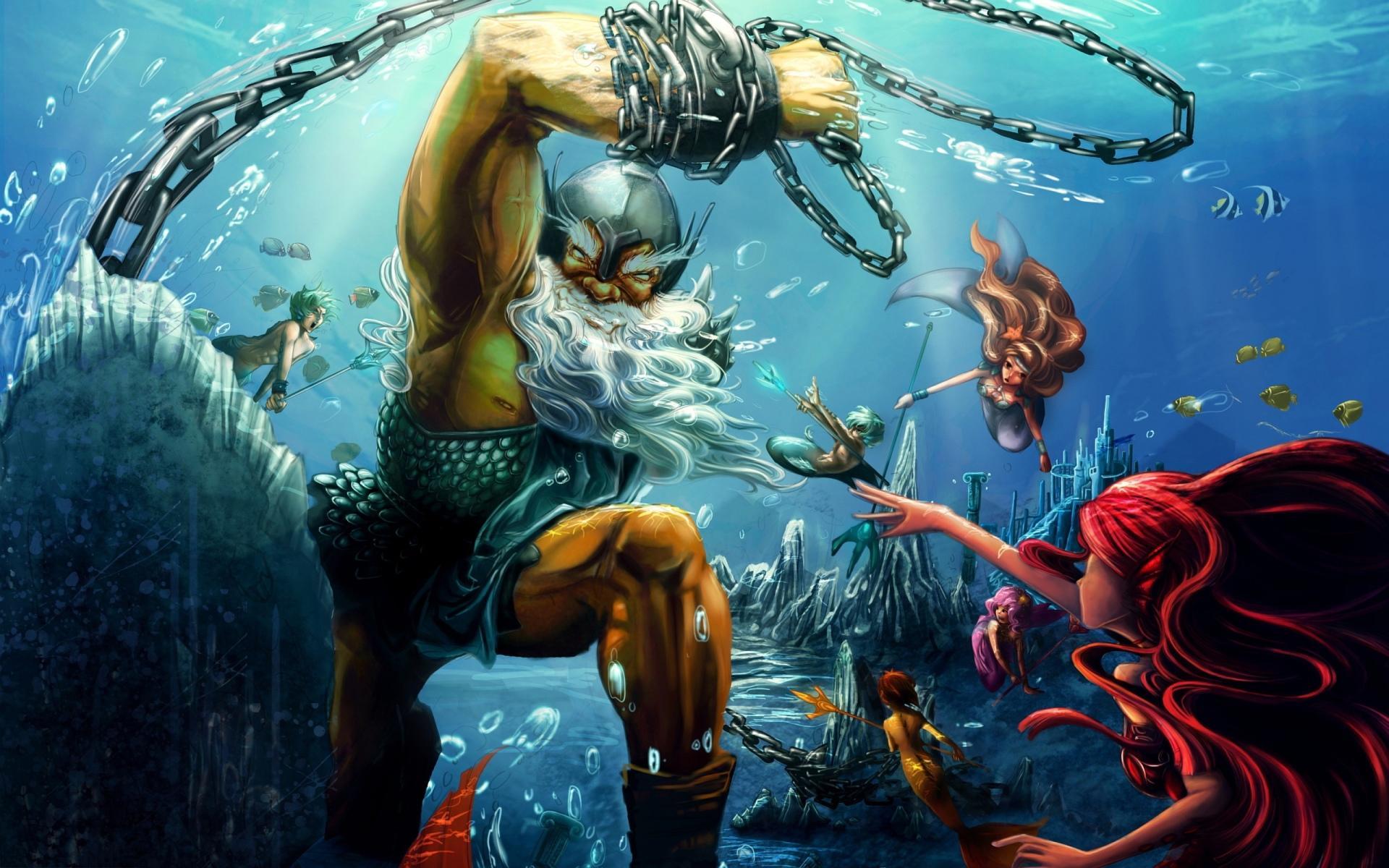 Poseidon wallpapers HD quality