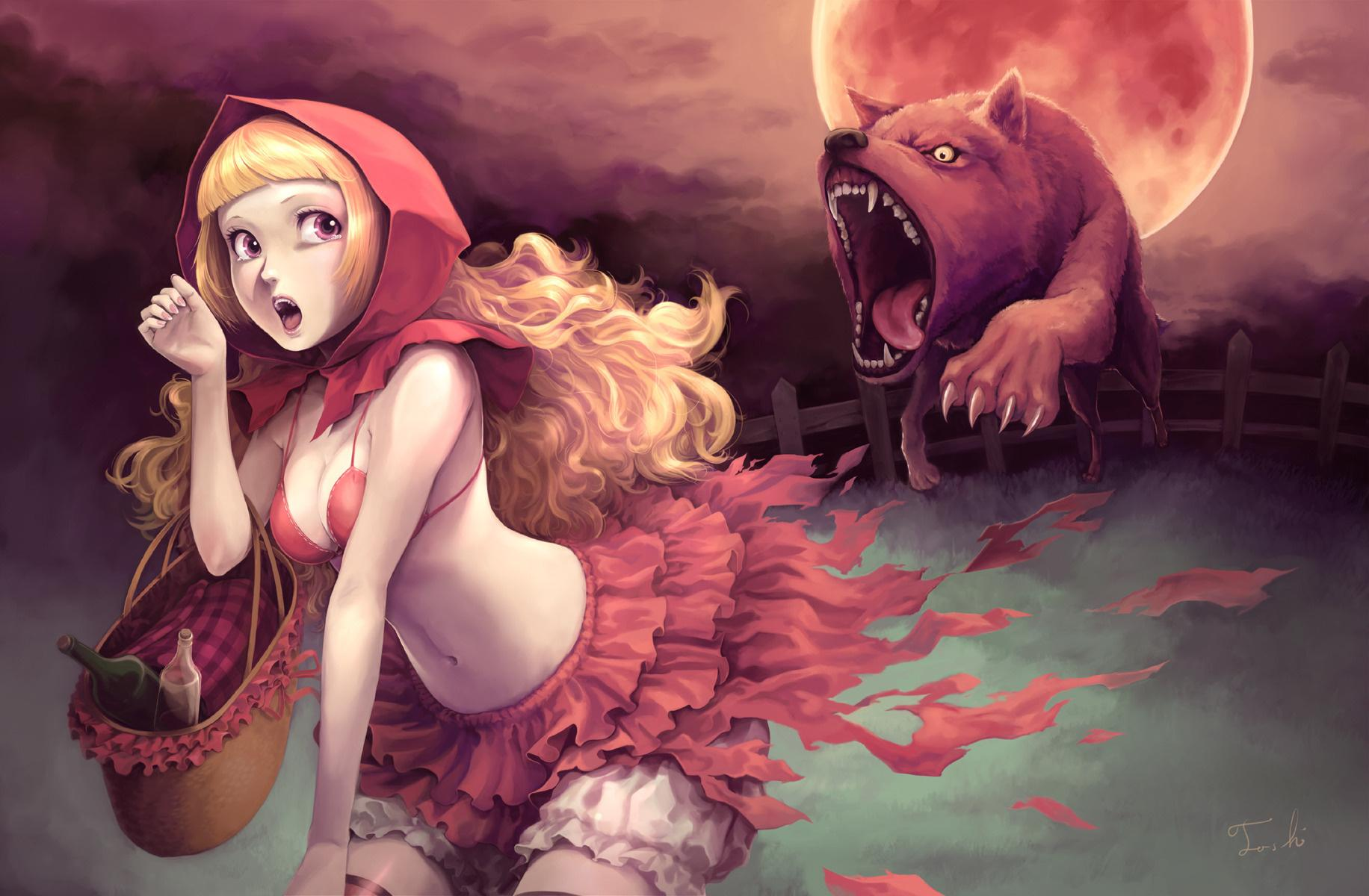 Red Riding Hood wallpapers HD quality