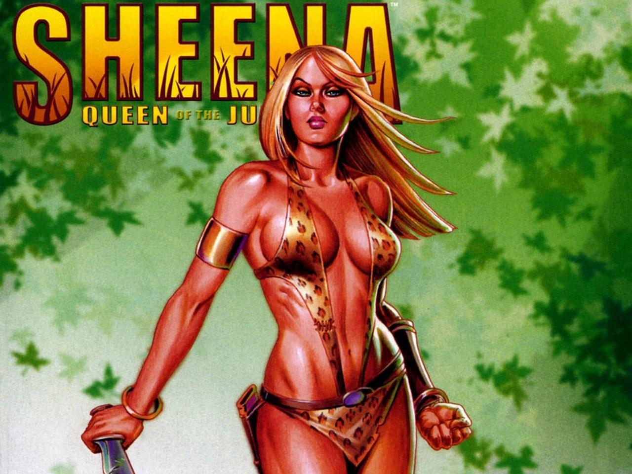 Sheena Comics wallpapers HD quality