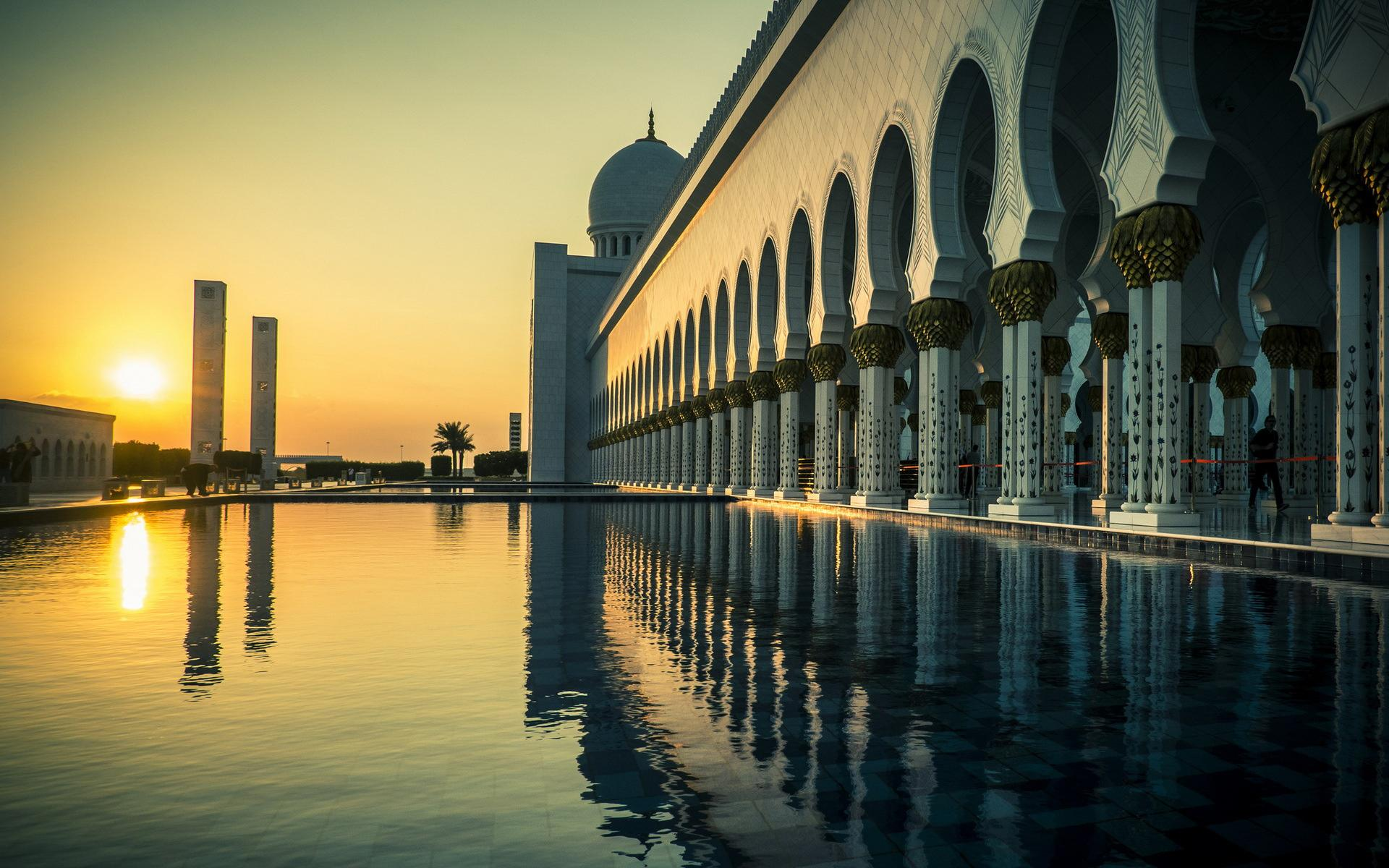 Sheikh Zayed Grand Mosque wallpapers HD quality