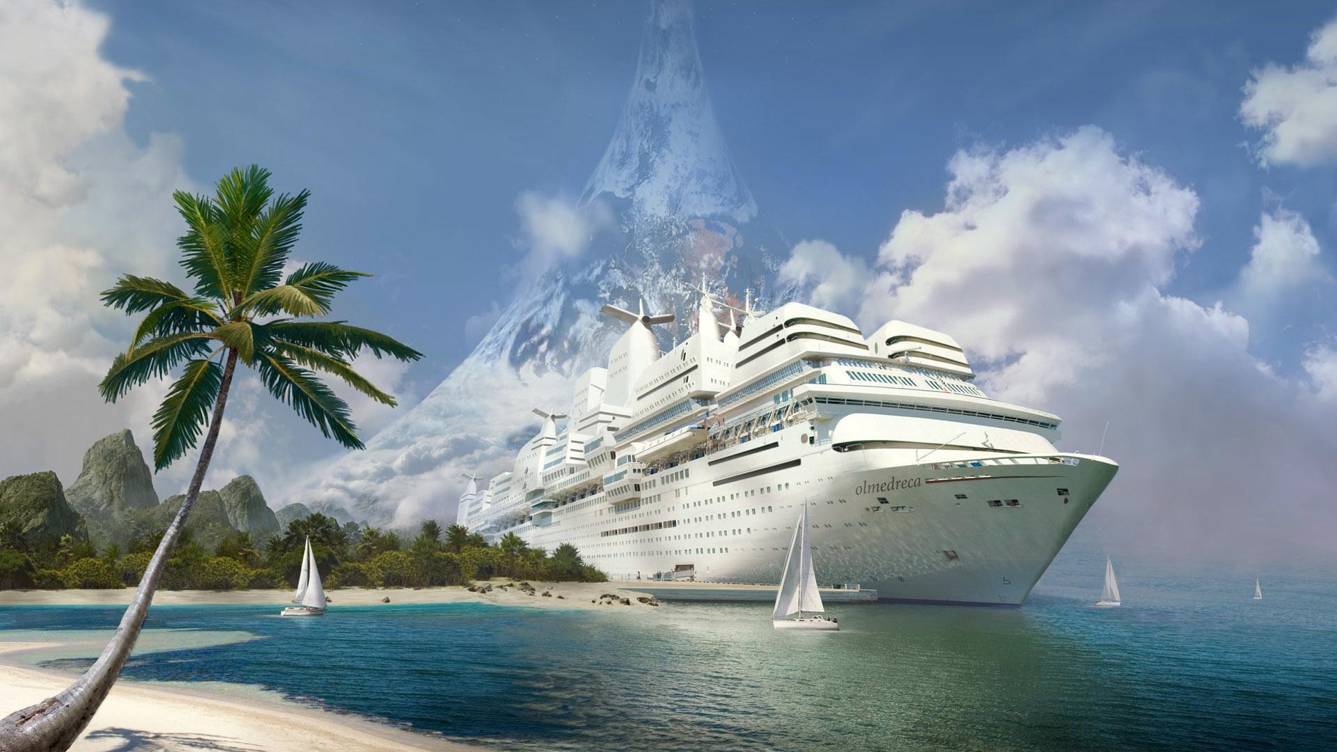 Ship Fantasy wallpapers HD quality