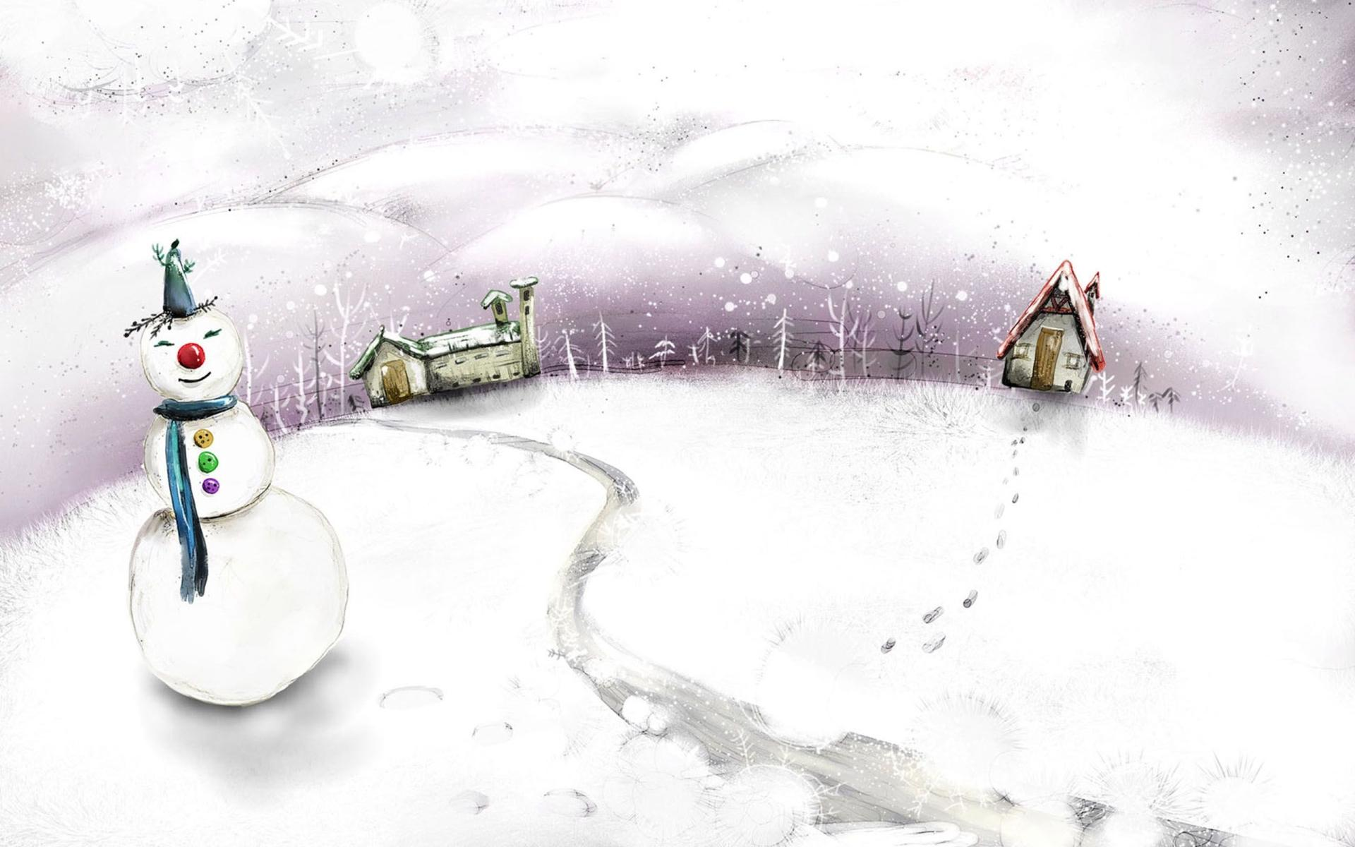 Snowman Artistic wallpapers HD quality