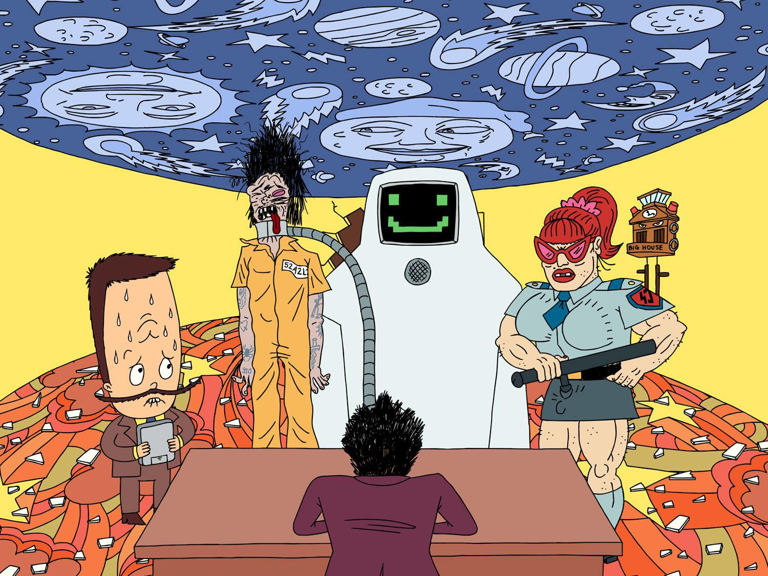 Superjail wallpapers HD quality