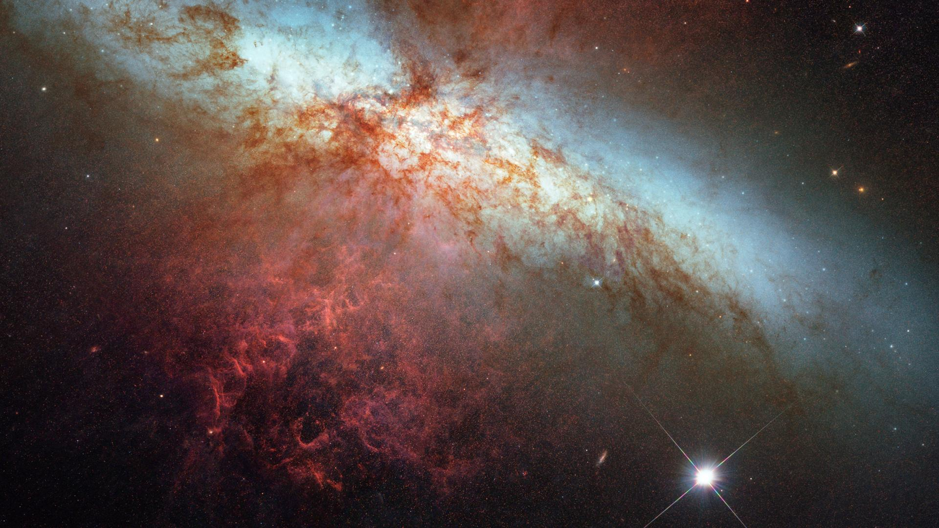 Supernova Sci Fi at 320 x 480 iPhone size wallpapers HD quality