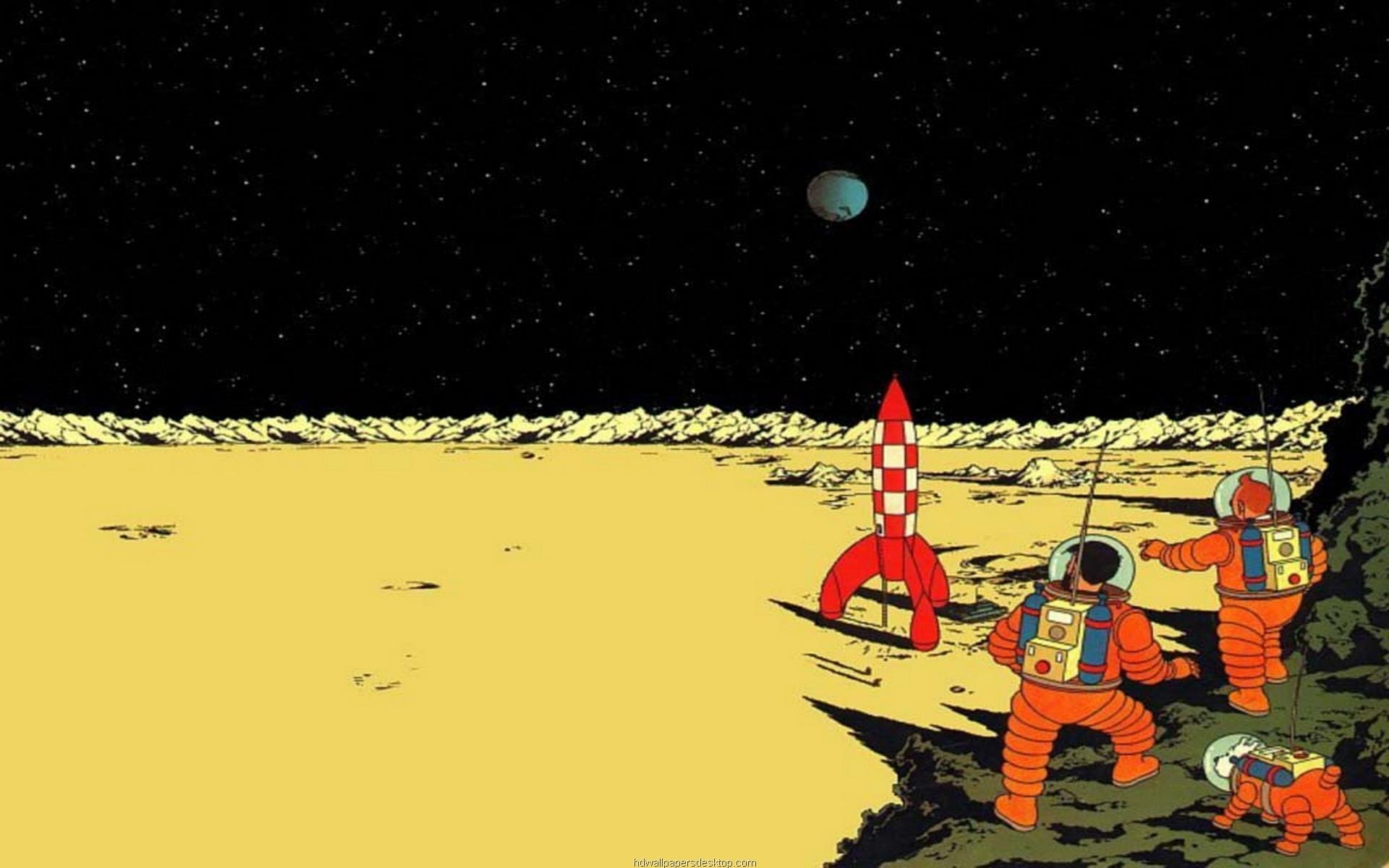 The Adventures Of Tintin at 1024 x 1024 iPad size wallpapers HD quality
