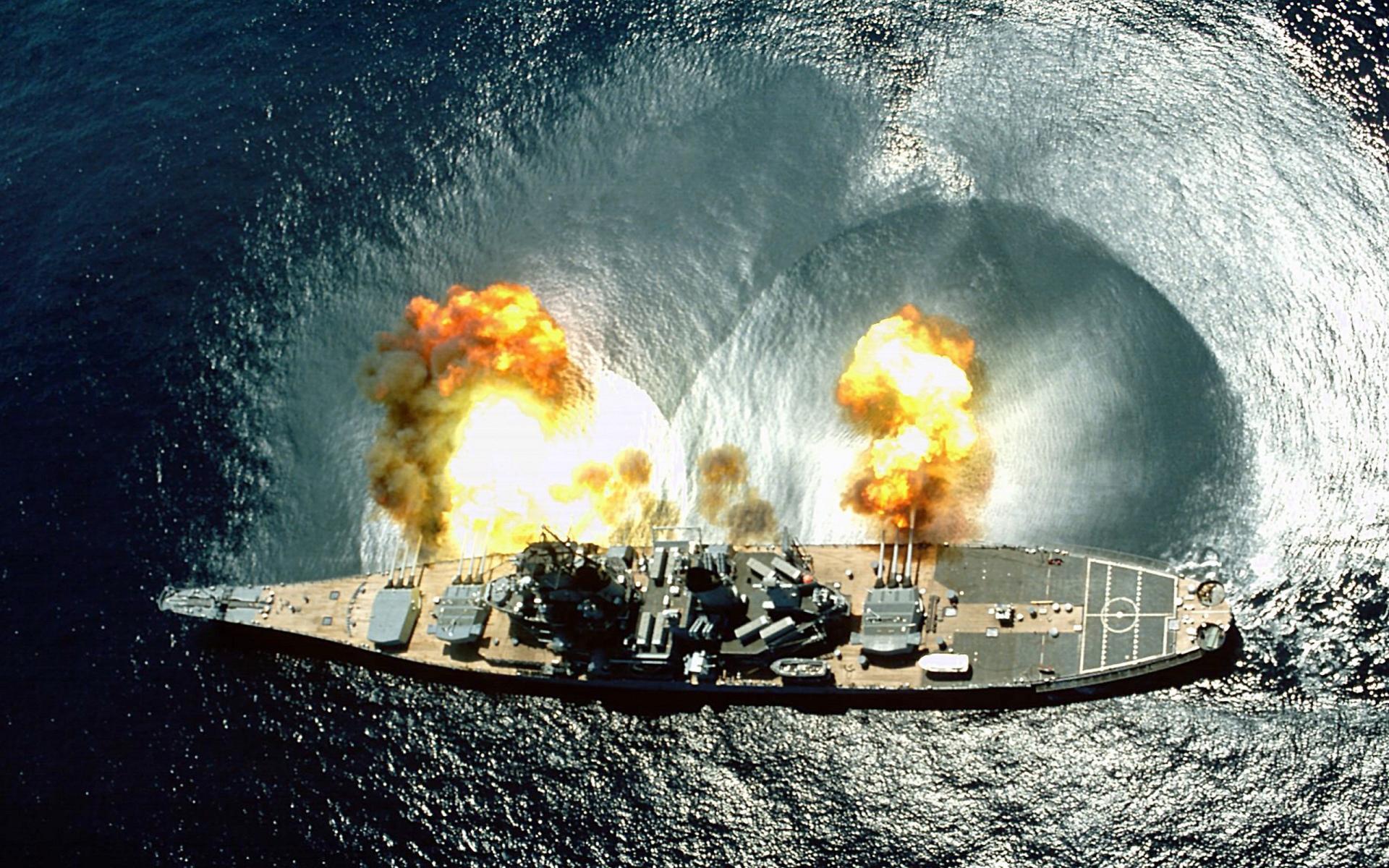 USS Iowa (BB-61) wallpapers HD quality