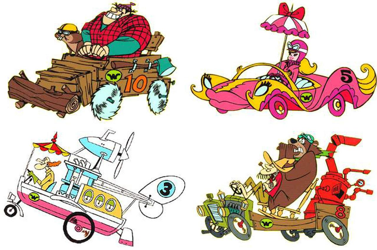 Wacky Races wallpapers HD quality