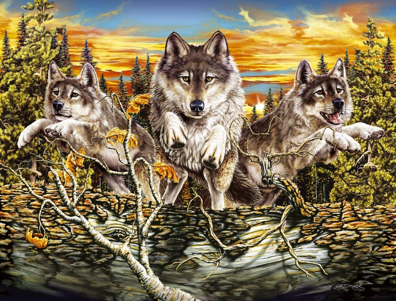 Wolf Fantasy wallpapers HD quality